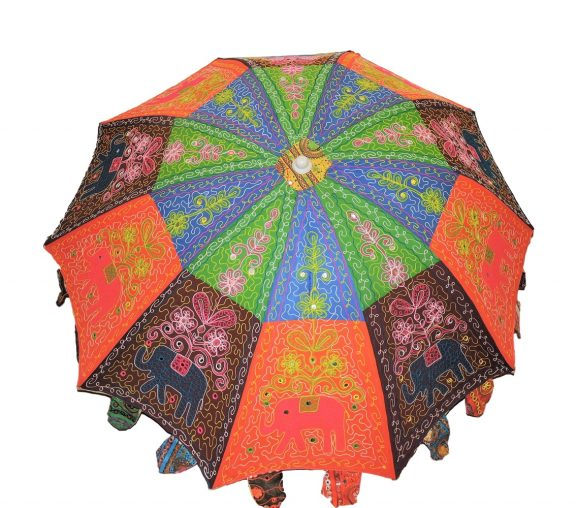 Indian Garden Umbrellas Design 10