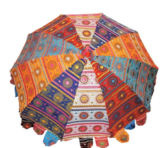 Indian Garden Umbrellas Design 5