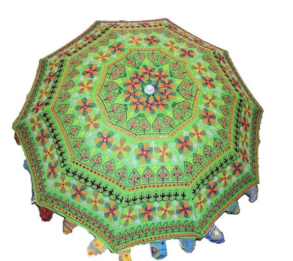 Indian Garden Umbrellas Design 6