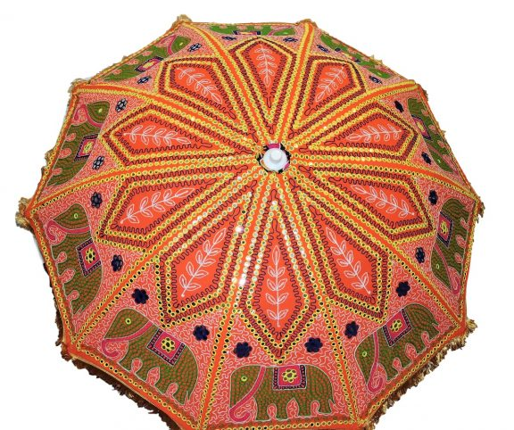 Indian Garden Umbrellas Design 7