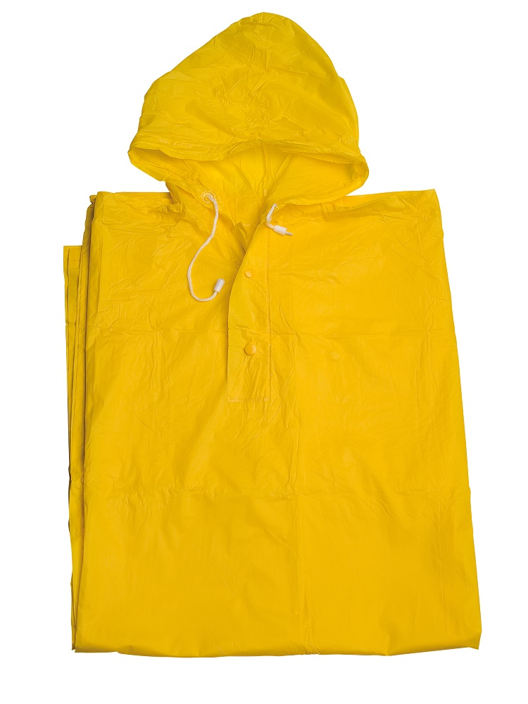 Yellow Rain Poncho for festivals - Umbrella Heaven