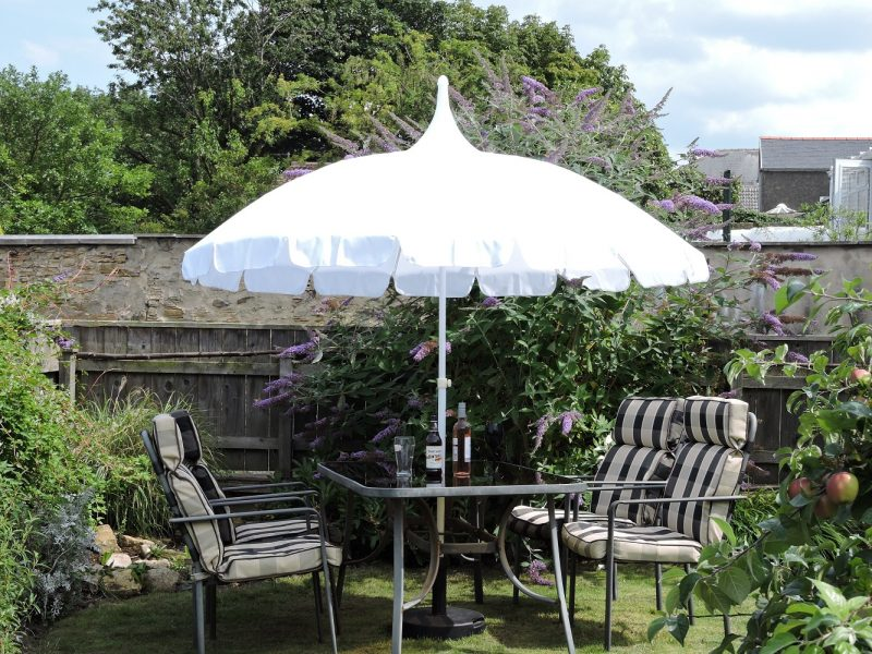 White Pagoda Patio Umbrella - Umbrella Heaven