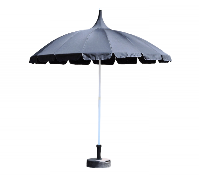 Black Pagoda Patio Umbrella