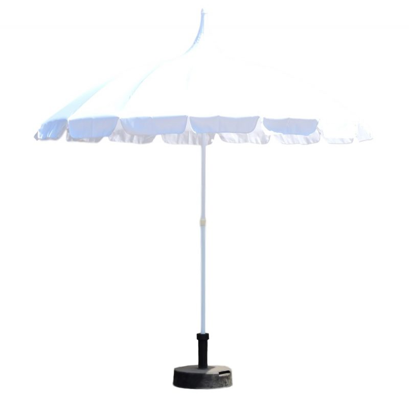 White Pagoda Patio Umbrella