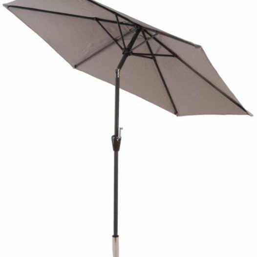 3m crank and tilt aluminium parasol
