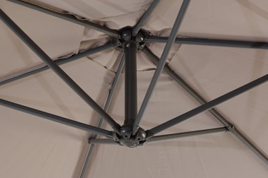 Underside of Cantilever Parasol