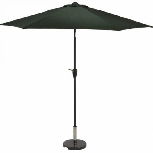 2.5m aluminium crank & tilt parasol