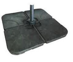 Cantilever parasol 100 kg base