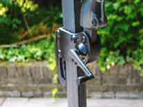 premium 3.5m cantilever parasol crank handle