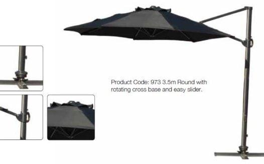 Premium 3.5 Metre Cantilever Parasol
