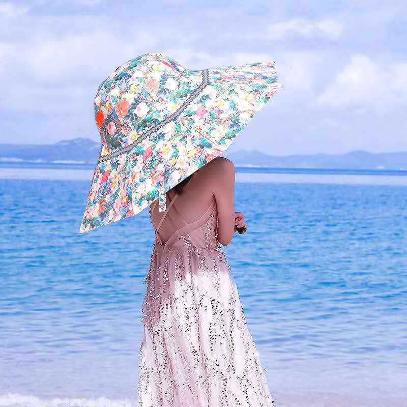 Hat Umbrella Parasol at beach