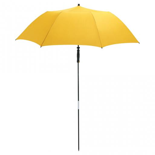 Portable beach umbrella - yellow