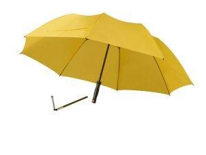 Travel beach umbrella - yellowturn
