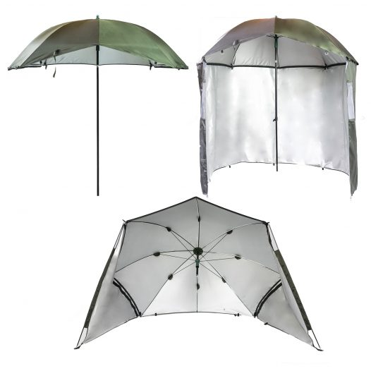 3-in-1 UV Umbrella Bivvy Shelter