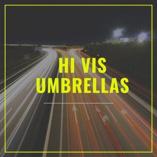 Hi Vis Safety Umbrellas