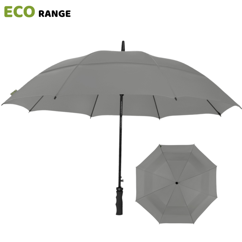 Grey ECO Golf Umbrella