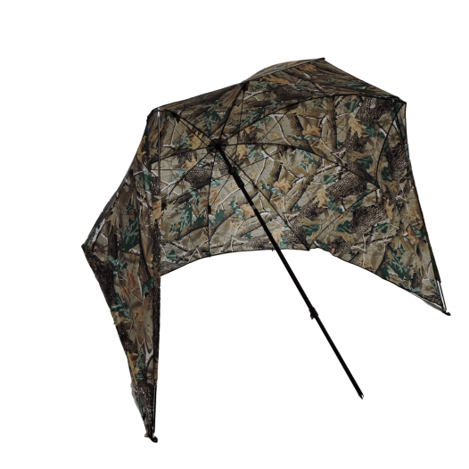 Camo bivvy fishing umbrella