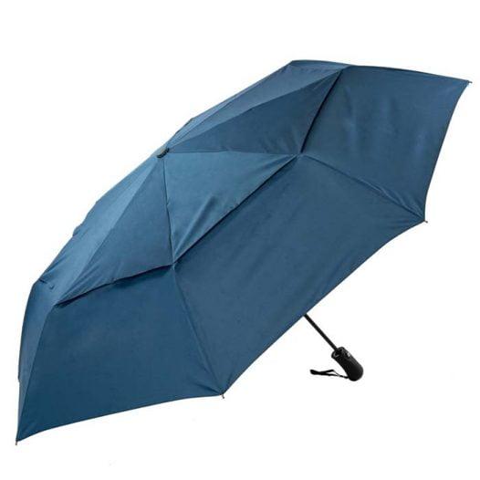 Folding Navy Golf Umbrella