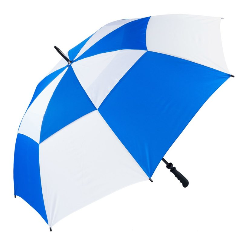 Royal Blue & White Golf Umbrella