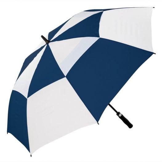 Navy & White Sports Golf Umbrella