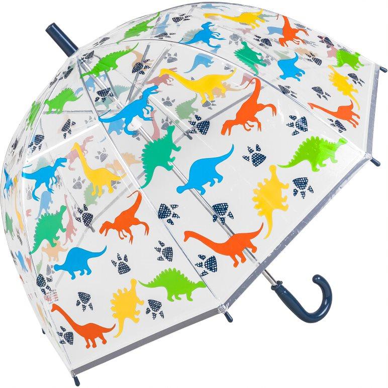 Kids Dinosaur PVC Dome Umbrella