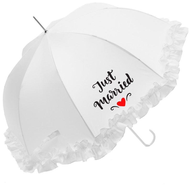 Just Married Wedding Umbrella
